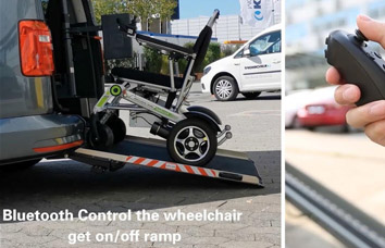 Airwheel electric wheelchairair