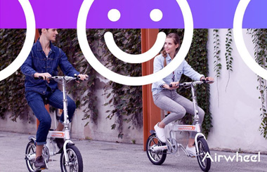 Airwheel R5 intelligent electric assist bike