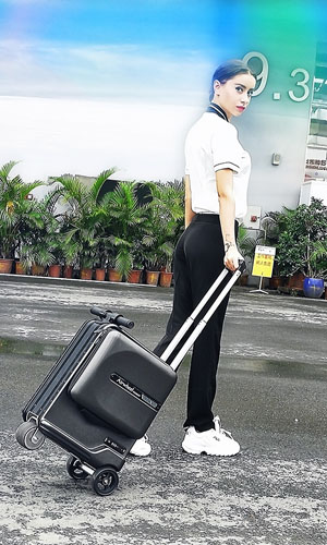airwheel SE3Mini electric suitcase
